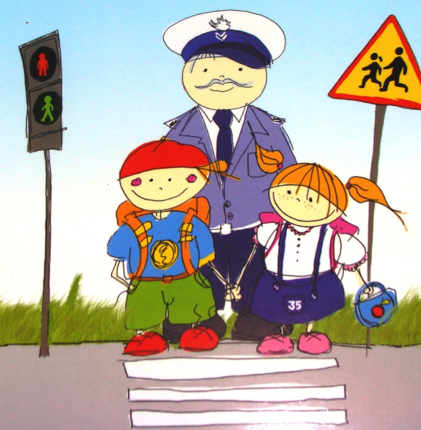Funkcjonariusze Policji ze Złotówa do uczniów szkół!