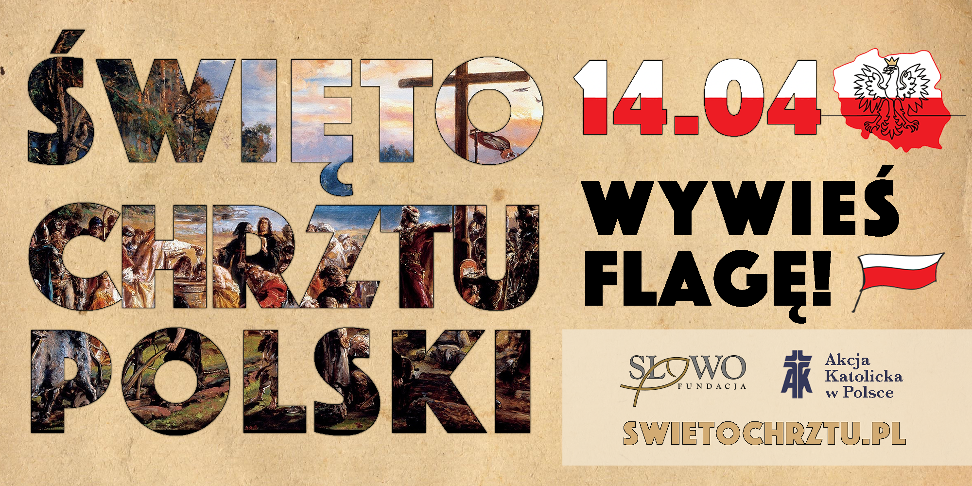 14 kwietnia- Święto Chrztu Polski